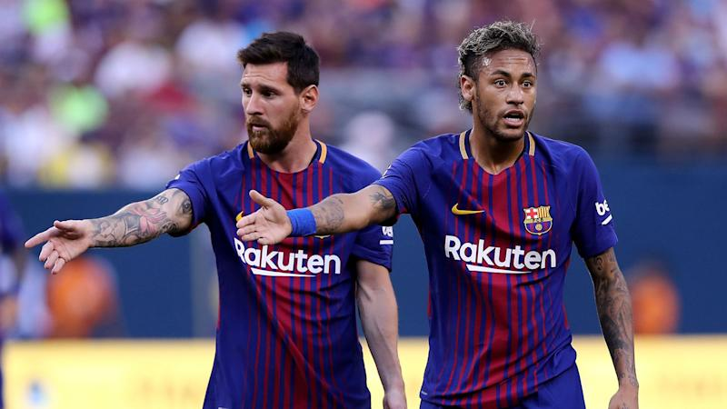 Messi feared Neymar would go to Madrid after missing out on Barcelona move