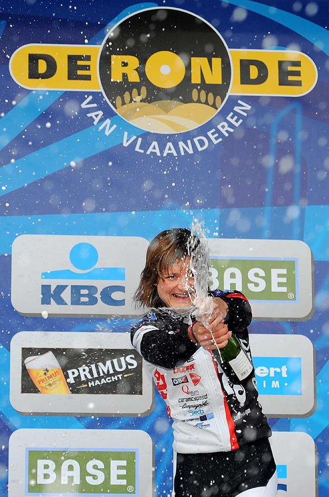 Grace Verbeke is the only Belgian woman to have won the Tour of Flanders ( 2010 edition)
