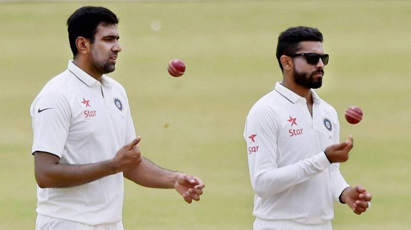 Ravichandran Ashwin and Ravindra Jadeja have become two of India's greatest Test spinners