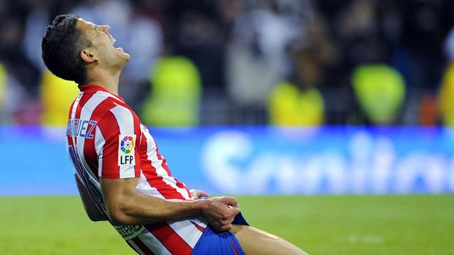 Dominguez leaves Atletico for Gladbach