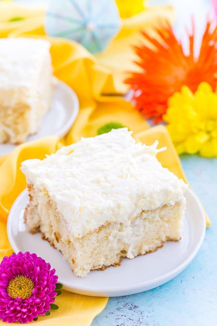 "<p>This decadent dessert is soaked in coconut milk and topped in a creamy homemade whipped frosting.</p><p><strong>Get the recipe at <a href=""https://www.sugarandsoul.co/coconut-poke-cake-recipe/"" rel=""nofollow noopener"" target=""_blank"" data-ylk=""slk:Sugar and Soul"" class=""link rapid-noclick-resp"">Sugar and Soul</a>.</strong></p><p><strong><a class=""link rapid-noclick-resp"" href=""https://go.redirectingat.com?id=74968X1596630&url=https%3A%2F%2Fwww.walmart.com%2Fsearch%2F%3Fquery%3Dstand%2Bmixer&sref=https%3A%2F%2Fwww.thepioneerwoman.com%2Ffood-cooking%2Fmeals-menus%2Fg35408493%2Feaster-desserts%2F"" rel=""nofollow noopener"" target=""_blank"" data-ylk=""slk:SHOP STAND MIXERS"">SHOP STAND MIXERS</a><br></strong></p>"