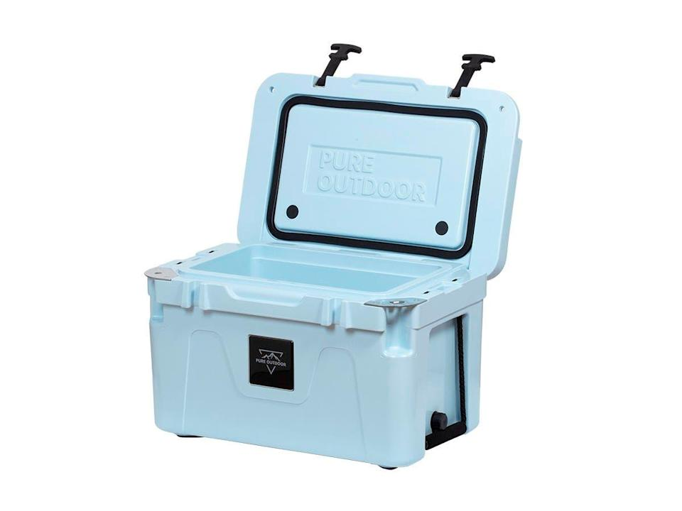 "<h3>High-Functioning Cooler</h3> <br>We came for the pretty powder blue of this stylish, high-capacity cooler, and stayed for the 4.7-out-of-5-star rating and 338 excellent reviews — many of which compared this under-$100 Monoprice model to the three-times-as-expensive Yeti. Sold!<br><br><strong>Monoprice</strong> Emperor 25 Cooler, $, available at <a href=""https://go.skimresources.com/?id=30283X879131&url=https%3A%2F%2Fwww.monoprice.com%2Fproduct%3Fp_id%3D31234"" rel=""nofollow noopener"" target=""_blank"" data-ylk=""slk:Monoprice"" class=""link rapid-noclick-resp"">Monoprice</a><br>"