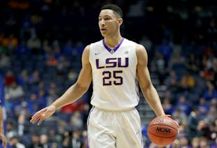NBA teams can't yet have contact with underclass prospects such as Ben Simmons. (Getty)
