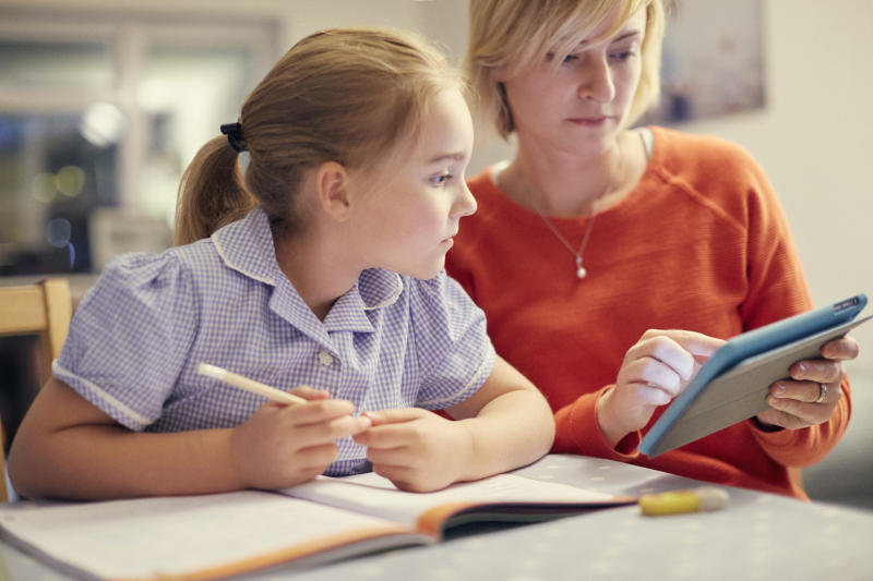 Many parents admit to struggling with their children's homework [Photo: Getty]