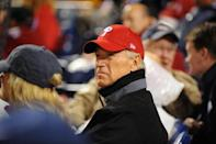 <p>Biden looks on during Game Three of the 2009 MLB World Series at Citizens Bank Park in Philadelphia. </p>