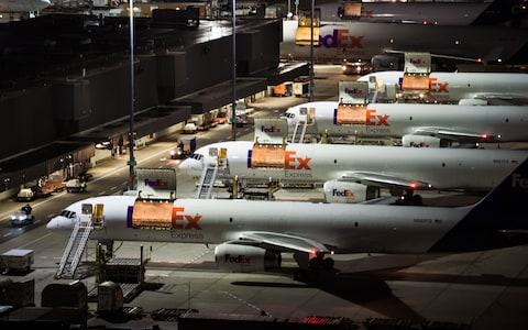 FedEx is the world's fourth largest airline by fleet size - Credit: FedEx