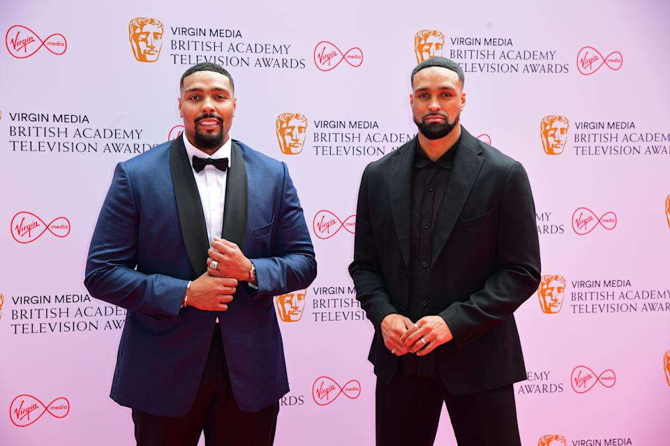 Ashley Banjo (right) and his brother Jordan have plans to take Diversity to Hollywood. (Ian West/PA Images via Getty Images)