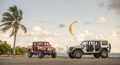 """New Jeep® Wrangler and Gladiator """"Three O Five"""" Edition Models Debut at Miami Auto Show"""