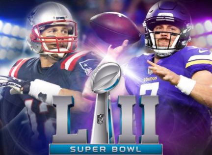 The NFL's premature Vikings-Patriots Super Bowl promo was posted and hastily deleted. (Facebook)
