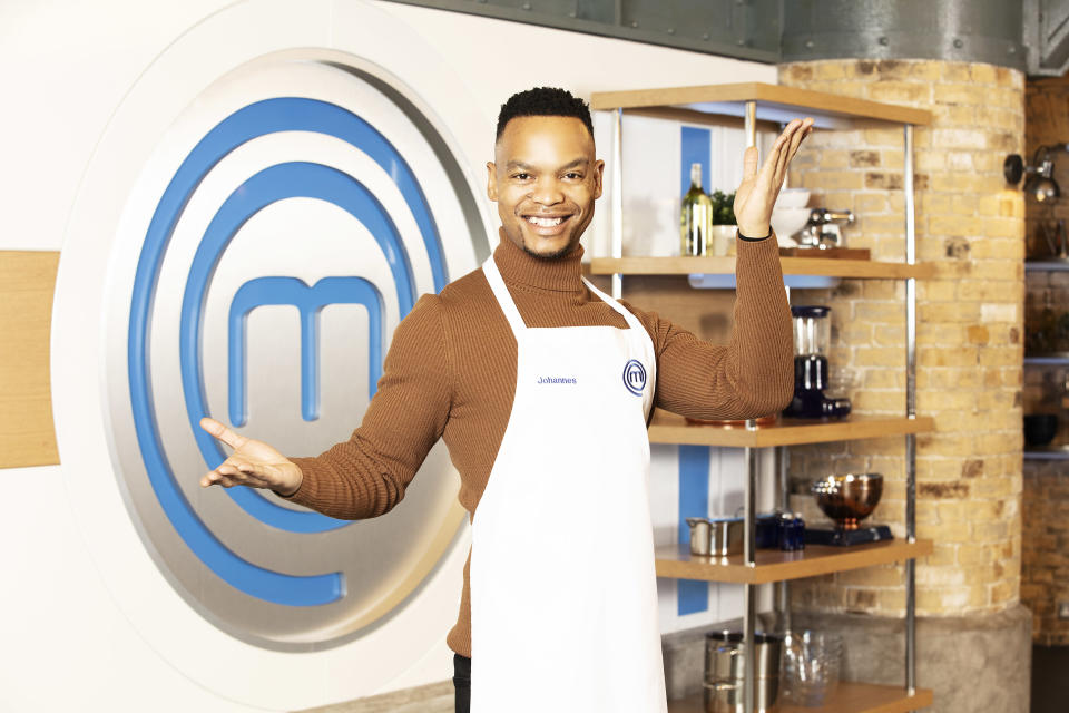 Johannes Radebe will take part in the next series of Celebrity MasterChef (BBC).