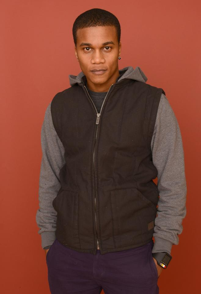 PARK CITY, UT - JANUARY 21:  Actor Cory Hardrict poses for a portrait during the 2013 Sundance Film Festival at the Getty Images Portrait Studio at Village at the Lift on January 21, 2013 in Park City, Utah.  (Photo by Larry Busacca/Getty Images)