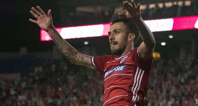 Urruti and FCD are flying high. (USA TODAY Sports)