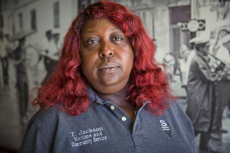 Tamara Jackson of the New Orleans organization Silence Is Violence. (ACLU)