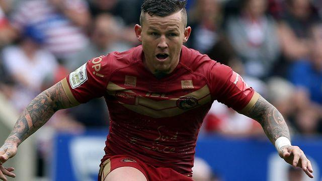 Carney with Salford in the Super League. Image: Getty