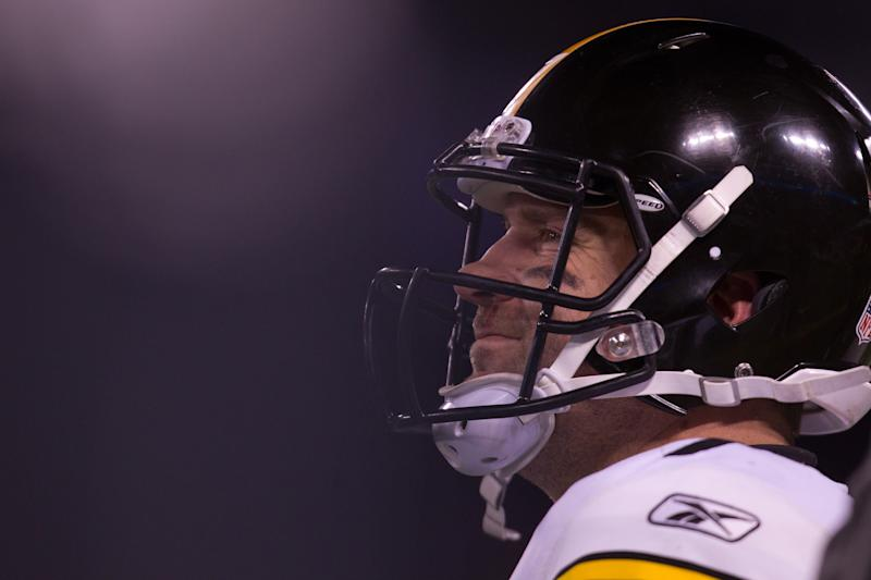 Ben Roethlisberger, pictured in 2010, got hit with a four-game suspension despite not being formally charged with a crime. (Getty Images)