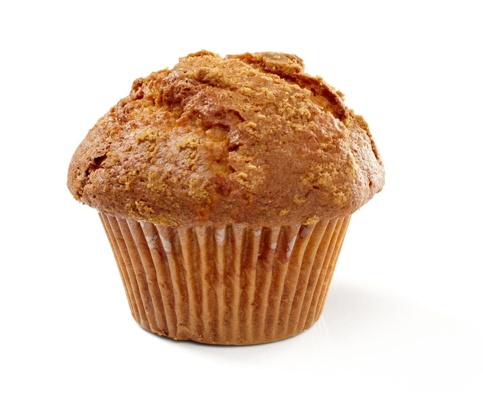 """<p>Keto snacks can get expensive. A smart solution? Make a batch of keto banana bread muffins. Potter recommends <a href=""""https://charliefoundation.org/banana-chocolate-chip-muffin/"""" rel=""""nofollow noopener"""" target=""""_blank"""" data-ylk=""""slk:this recipe"""" class=""""link rapid-noclick-resp"""">this recipe</a> from the Charlie Foundation for its high fat content. """"Make them once a week and<strong> store in your freezer so you can warm them up</strong> whenever you need a snack,"""" Potter suggests.</p>"""