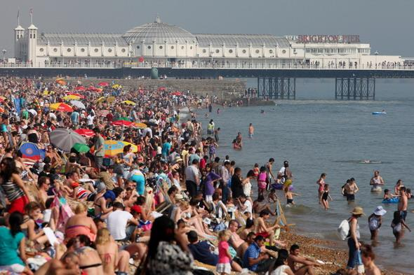 Seaside resorts boom as holidaymakers seek to save cash