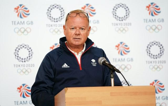 Mark England says the British Olympic Association would support athletes in whatever way they collectively choose to support the Black Lives Matter movement