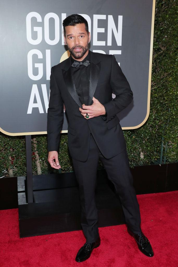 <p>The <em>American Crime Story</em> actor attends the 75th Annual Golden Globe Awards at the Beverly Hilton Hotel in Beverly Hills, Calif., on Jan. 7, 2018. (Photo: Steve Granitz/WireImage) </p>