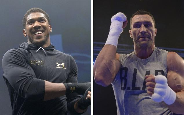 <span>Joshua vs Klitschko is a must-watch this weekend</span>