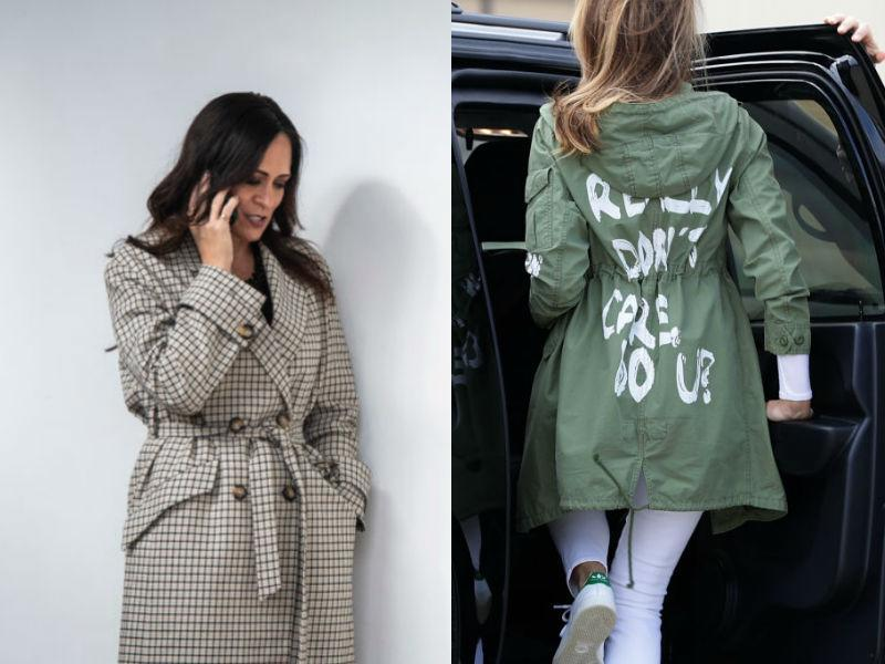 """Stephanie Grisham got in front of the controversy surrounding Melania Trump's infamous """"I don't really care, do u?"""" jacket. (Photo: Getty Images)"""