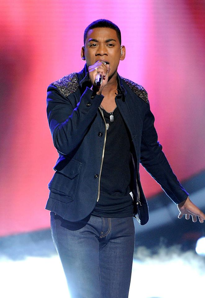 """Joshua Ledet performs """"No More Drama"""" by Mary J. Blige on """"<a target=""""_blank"""" href=""""http://tv.yahoo.com/american-idol/show/34934"""">American Idol</a>."""""""