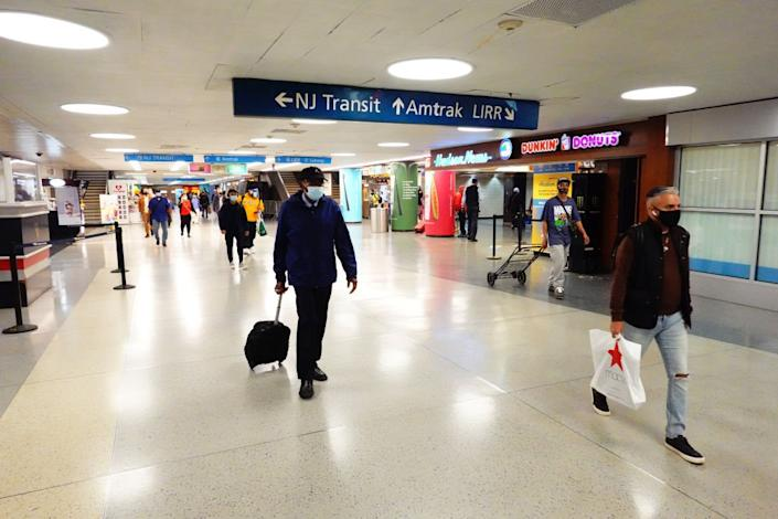 The original Penn Station was replaced with a basement station decried by most visitors