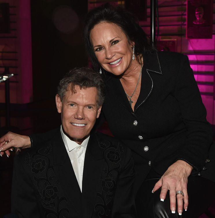 Randy Travis and wife Mary.