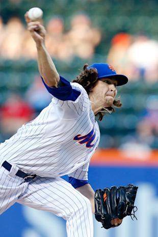 deGrom, dealing (Photo by Mike Stobe/Getty Images)