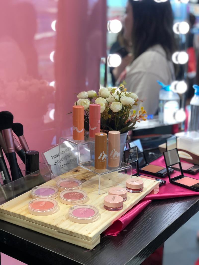 Korean brands Eglips and I'M MEME are known for their trendy and fun makeup so you can look every inch the K-pop star. (PHOTO: Sheila Chiang/ Yahoo Lifestyle Singapore)