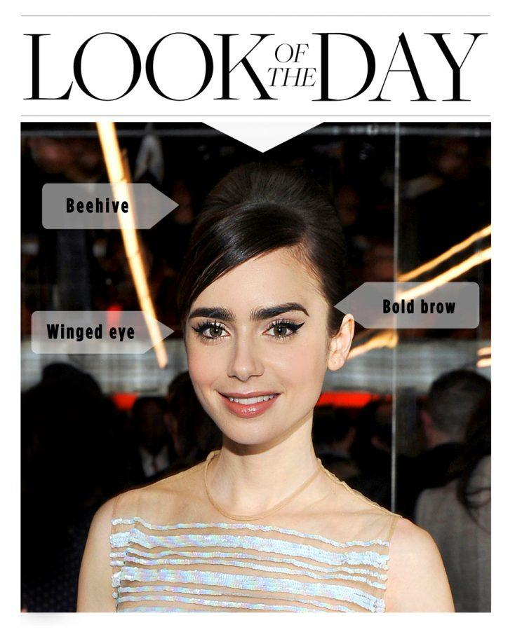 Lily Collins Gives Us Major Audrey Hepburn Vibes