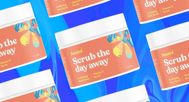 From psoriasis to uneven texture, thousands of Amazon shoppers swear by this 'miracle' body scrub. (Photo: Amazon, Yahoo Lifestyle)