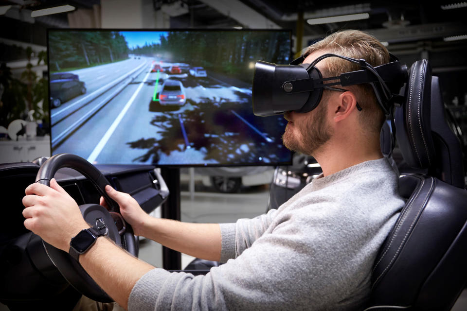 Volvo claims to have developed the 'ultimate driving simulator.'