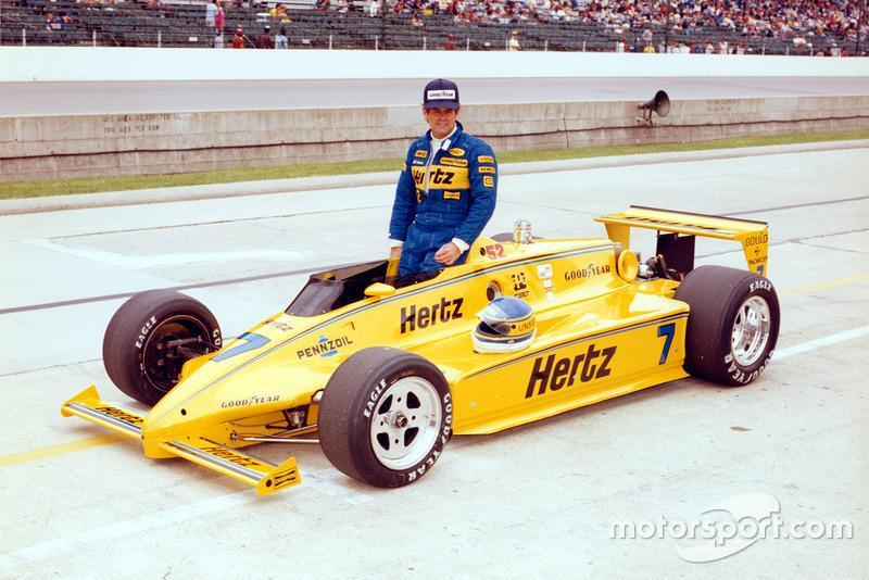"1983 - CART: Al Unser (Penske-Cosworth PC10B und PC11)<span class=""copyright"">Indianapolis Motor Speedway</span>"