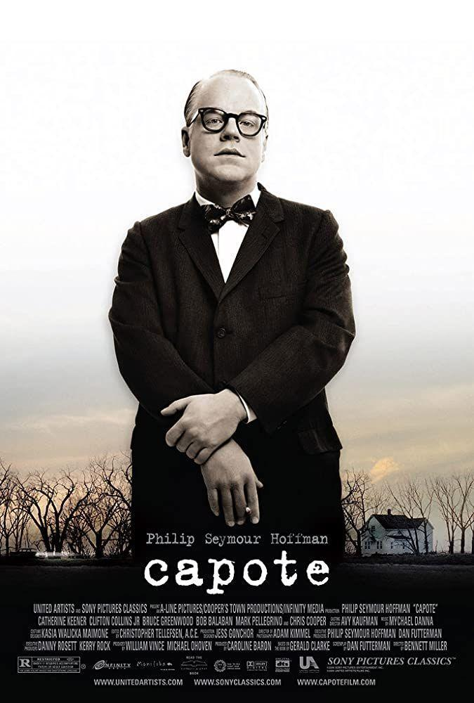 """<p>Philip Seymour Hoffman plays Truman Capote, a writer who reports on the murders of a family in small town Kansas. He can't get enough of the story—or the murderers responsible—and begins writing about it. Maybe you've heard of a little book called <em>In Cold Blood</em>?</p><p><a class=""""link rapid-noclick-resp"""" href=""""https://go.redirectingat.com?id=74968X1596630&url=https%3A%2F%2Fwww.hulu.com%2Fmovie%2Fcapote-0033c441-4265-43bb-a58c-78f24e9a9ff7&sref=https%3A%2F%2Fwww.redbookmag.com%2Flife%2Fg36572054%2Fbest-movies-based-on-true-storie1%2F"""" rel=""""nofollow noopener"""" target=""""_blank"""" data-ylk=""""slk:Watch Here"""">Watch Here</a></p>"""