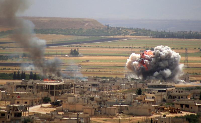 Violence has escalated in northwestern Syria between regime forces backed by Russia and jihadists led by Syria's former Al-Qaeda affiliate Hayat Tahrir al-Sham (HTS)