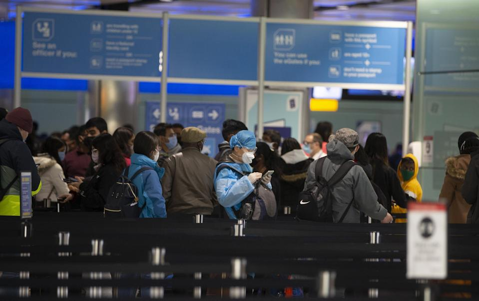 """<p>The government is warning people not to travel to """"amber"""" territories</p> (Getty Images)"""