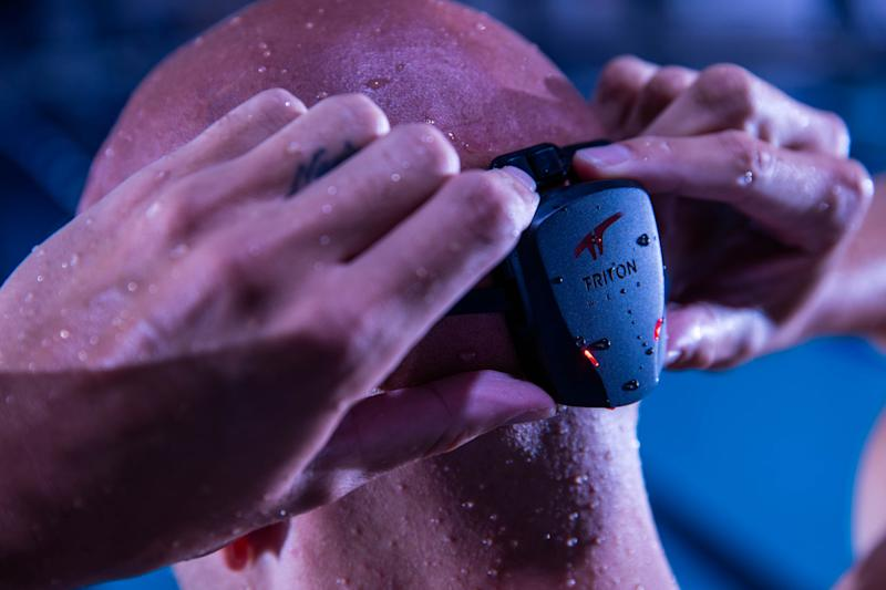 tritonwear wearable swimming tech