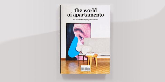 """<div class=""""caption""""> We find the best ideas come from how real people decorate their space. <em>Apartamento</em> has made everyday homes their mission since 2008, and now they've gathered the best interiors from the magazine into a book celebrating their 10th anniversary. You'll need multiple bookmarks for this one! <a href=""""https://www.amazon.com/World-Apartamento-years-everyday-interiors/dp/141972892X"""" rel=""""nofollow noopener"""" target=""""_blank"""" data-ylk=""""slk:SHOP NOW"""" class=""""link rapid-noclick-resp"""">SHOP NOW</a>: <em>The World of Apartamento: Ten Years of Everyday Life Interiors</em> by Nacho Alegre, Omar Sosa, and Marco Velardi, $32, amazon.com </div> <cite class=""""credit"""">Photo courtesy of Amazon</cite>"""