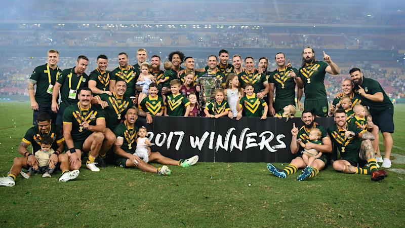 Australia to begin World Cup title defence against Fiji in Hull in October 2021