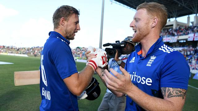 """Ben Stokes lit up the IPL on Monday and Joe Root has hailed the all-rounder's ability to """"respond well to pressure and to expectation""""."""