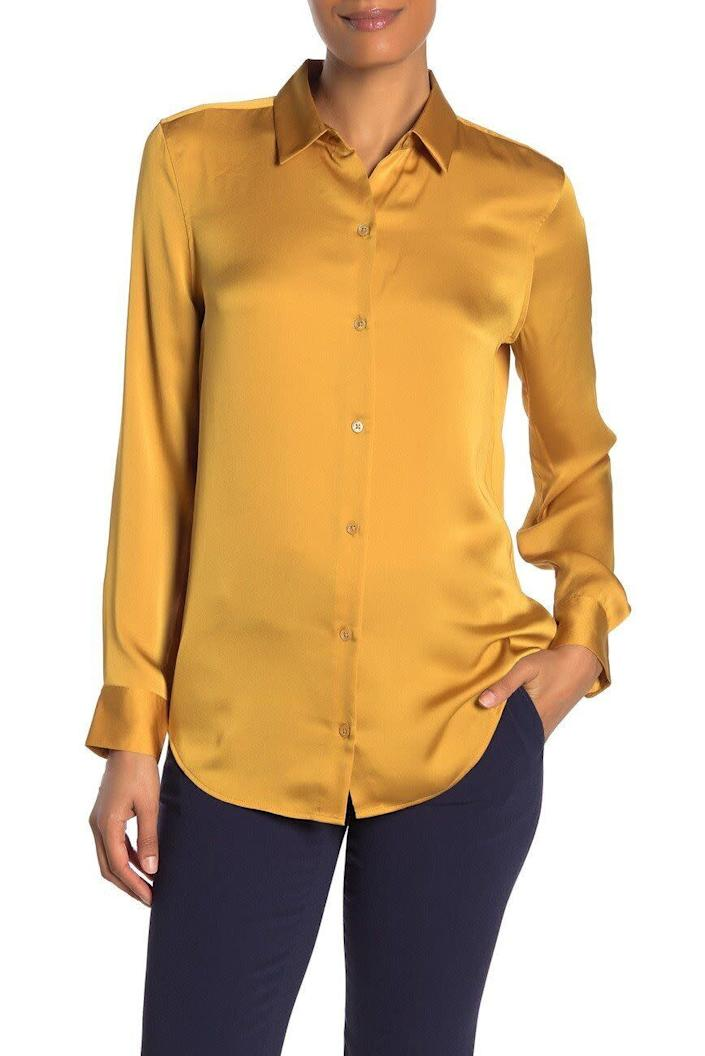 """This top comes in sizes XS to L. <a href=""""https://fave.co/2HdUZjk"""" rel=""""nofollow noopener"""" target=""""_blank"""" data-ylk=""""slk:Find it at Nordstrom Rack for $70"""" class=""""link rapid-noclick-resp"""">Find it at Nordstrom Rack for $70</a>."""