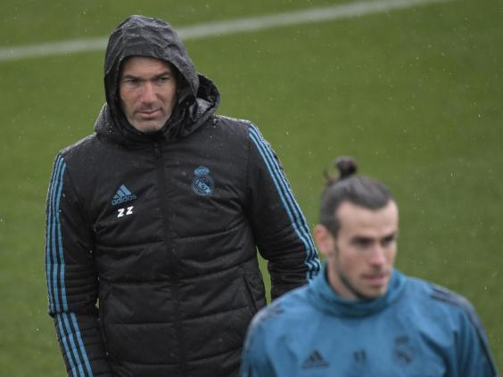 Zinedine Zidane has never been sold on Gareth Bale's future at Real Madrid (Getty)