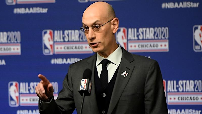 Adam Silver concerned about COVID-19 cases penetrating Orlando NBA bubble