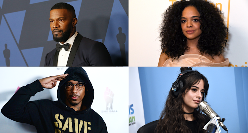 Nick Cannon, Jamie Foxx, Tessa Thompson and Camila Cabello all joined the protests.