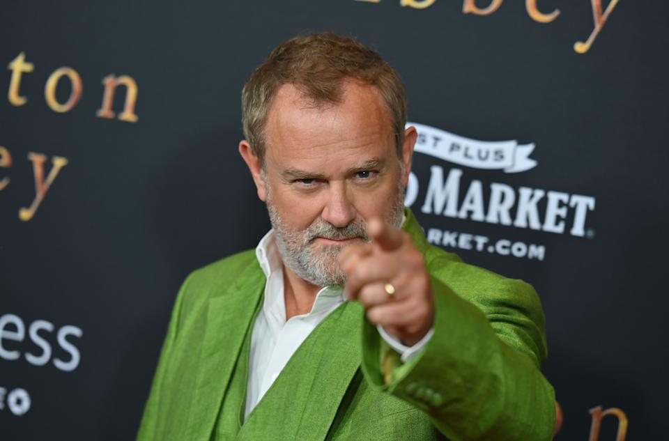 English actor Hugh Bonneville attends the