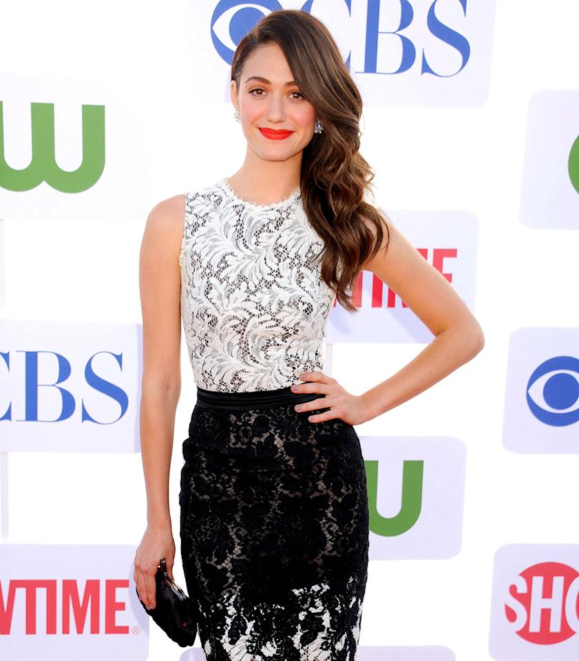 "Emmy Rossum (""Shameless"") turns 26 on September 12."