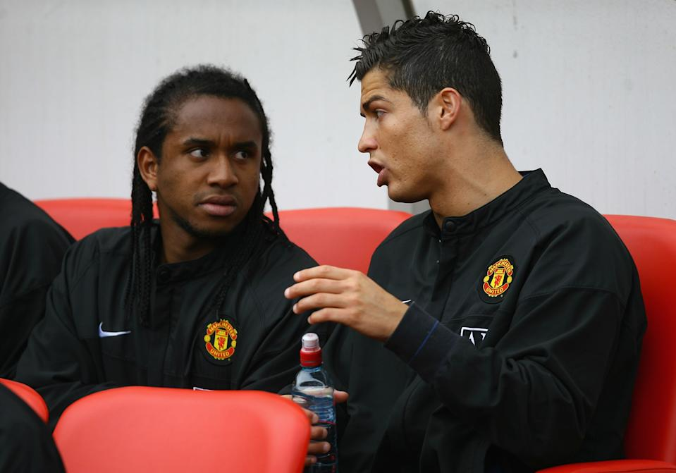 Anderson and Cristiano Ronaldo were partners at Manchester United (Photo: Alex Livesey/Getty Images)