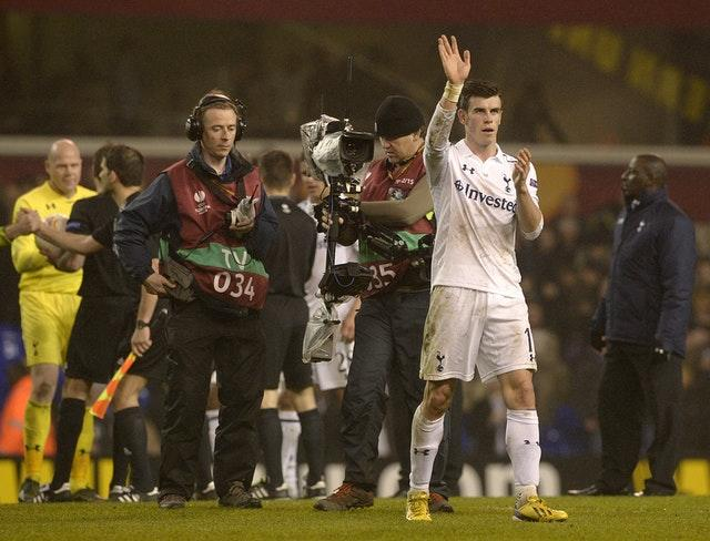 Bale elevated his status with a Champions League hat-trick at the San Siro before playing a starring role in the return match against Inter Milan (Jonathan Brady/PA)