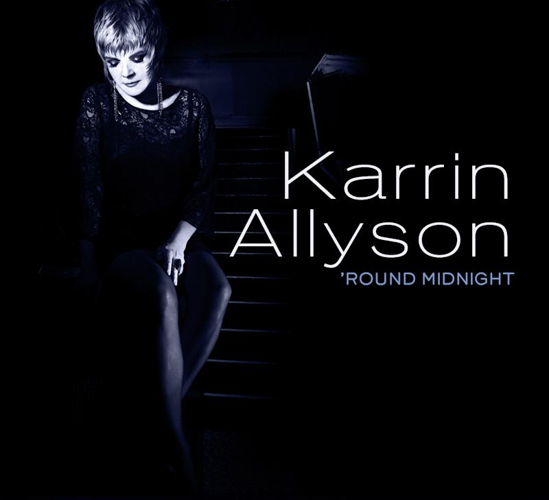 """In this CD cover released by Concord Jazz, the latest release by Karrin Allyson """"'Round Midnight,"""" is shown. (AP Photo/Concord Jazz )"""